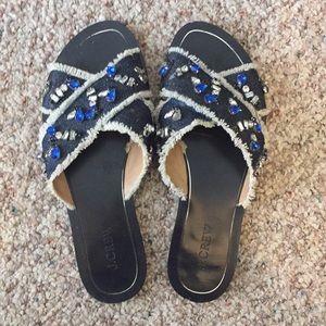 Jcrew Embellished Sandals